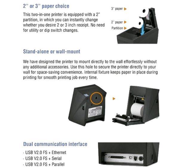 Phân phối máy in hóa đơn Bixolon SRP 330 COSG