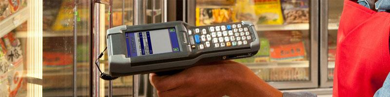 Thiết bị kiểm kho Unitech dùng kiểm kho trong siêu thị