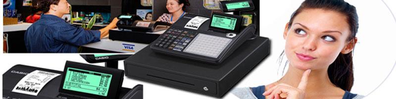 Mua máy tính tiền Casio, Topcash chính hãng, in hóa đơn nhanh, ổn định.