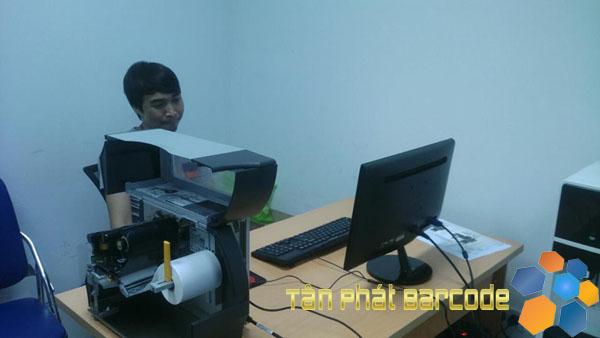Lắp đặt máy in mã vạch công nghiệp Zebra ZT230 tại Sóc Sơn