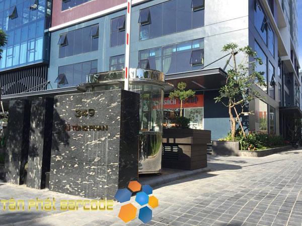 Lắp đặt thiết bị cổng từ an ninh tại nhà sách Trí Tuệ - Vũ Tông Phan