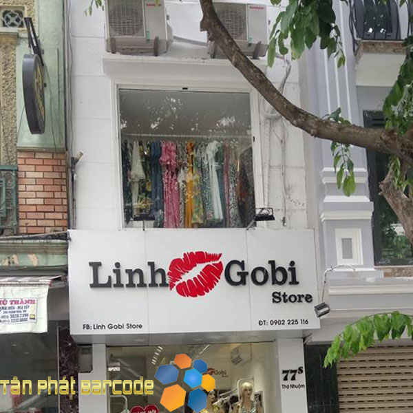 Lắp đặt máy chấm công Ronald Jack DG-600 tại Linh Gobi Store