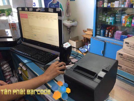 Lắp đặt máy in hóa đơn Epson TM-T82II tại nhà thuốc An Tâm - Bắc Linh Đàm