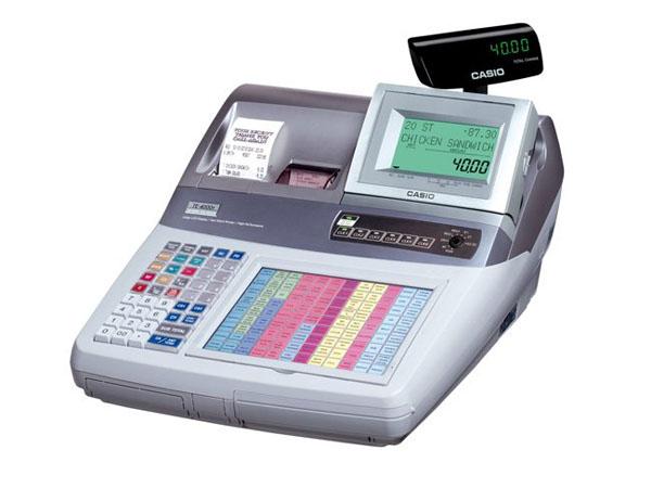 Máy tính tiền Casio TE4000F chính hãng giá rẻ