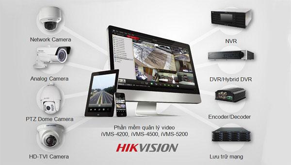 Đơn vị phân phối và lắp đặt Camera Hikvision chính hãng