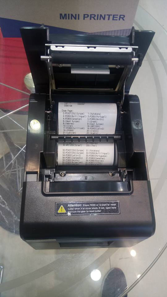 Mua máy in hóa đơn Xprinter XP-N200H (K80) ở đâu tại Hà Nội