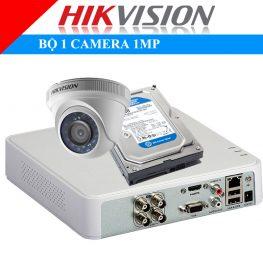 Lắp đặt trọn bộ 1 camera 1Mp Hikvison