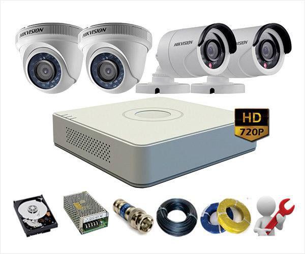 Lắp đặt hệ thống camera trọn gói giá rẻ