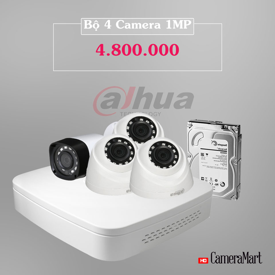 Lắp đặt trọn bộ camera với giá cực sốc