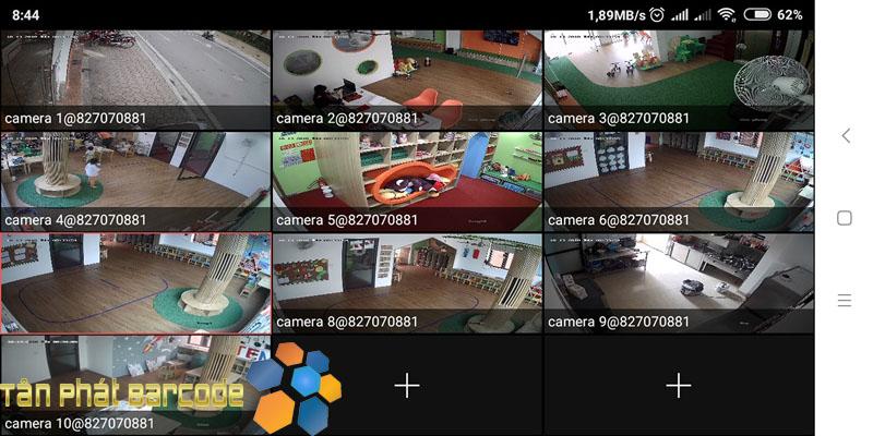 Setup hệ thống camera tại Trường Mầm Non Việt Anh 3